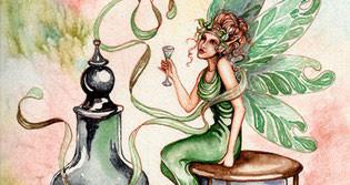 """""""el hada verde de la absenta"""",""""absinthe"""""""