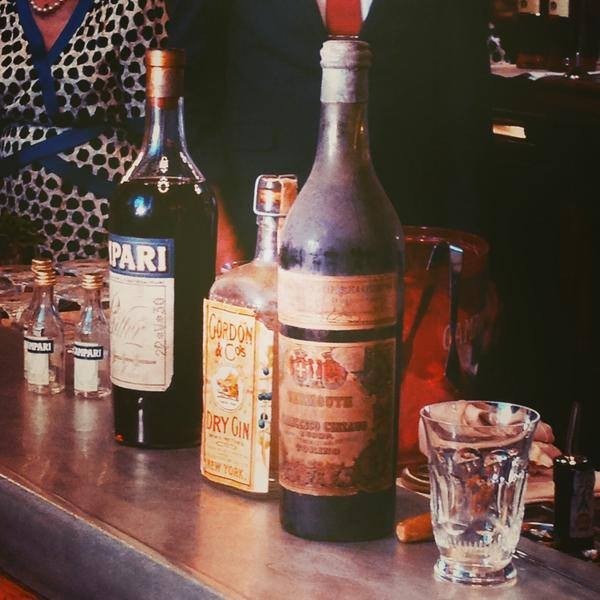 """Negroni"",""the oldest negroni in the world"",""el negroni mas viejo del mundo"",""cocteleria"",""bartender"""