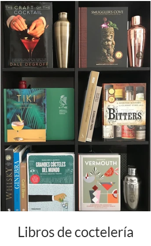 Libros de cocteleria para bartenders