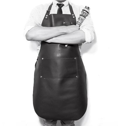 Mandil bartender chef parrillero brandeo para marcas