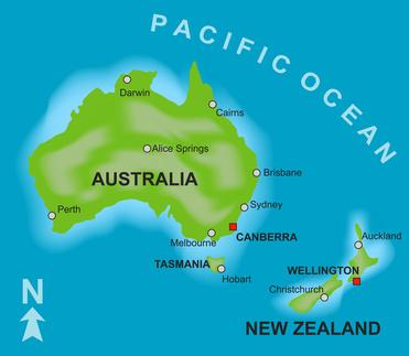 Australien- und Neuseelandresie, Heinz und Dor Merkle, 2000-2002