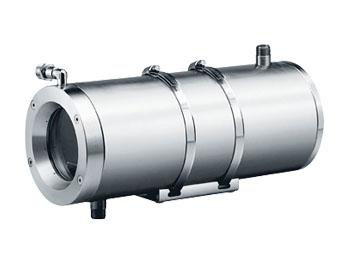 NXW - Wassergekühltes Kameragehäuse aus rostfreiem Stahl von Videotec, presented by SafeTech