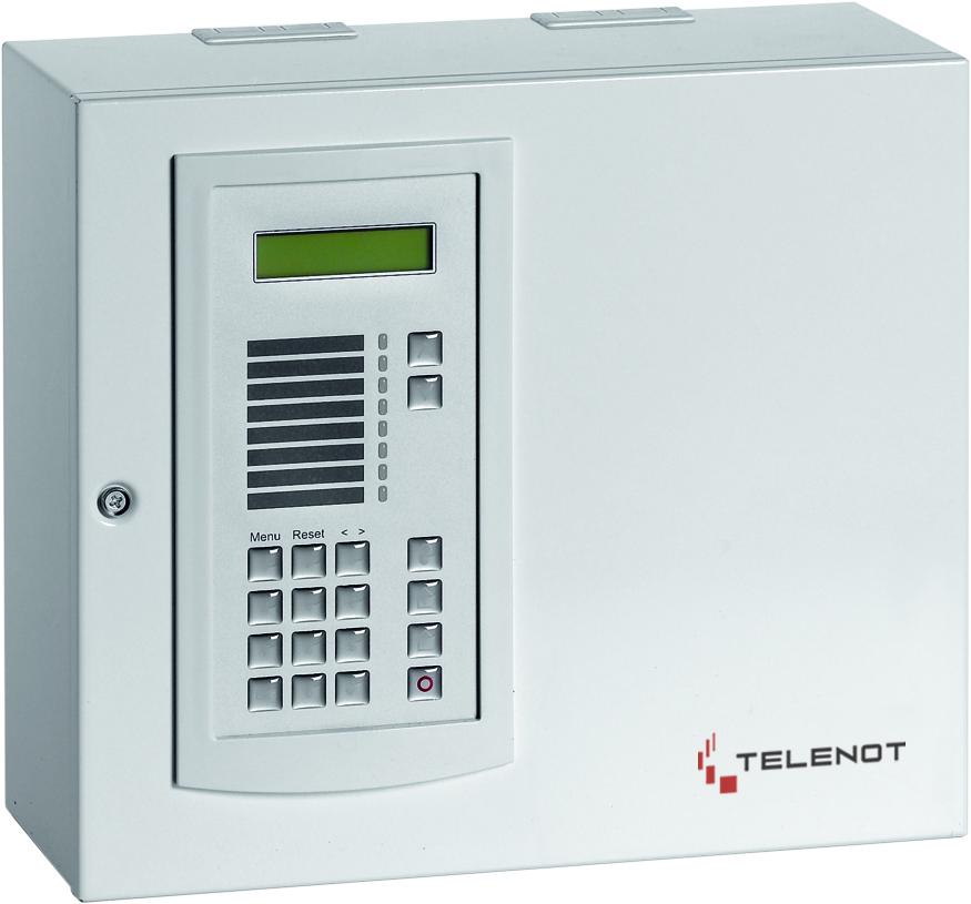 Telenot Complex 400H Im Gehäuse S8 mit BT820