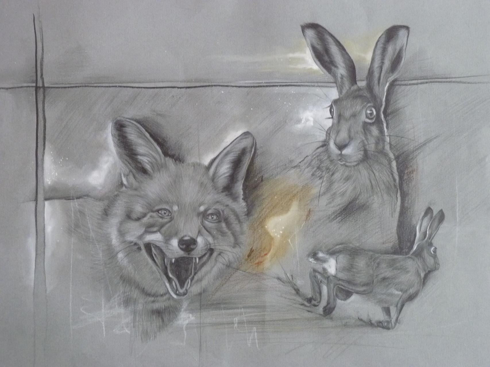 Fuchs und Hase, 2015