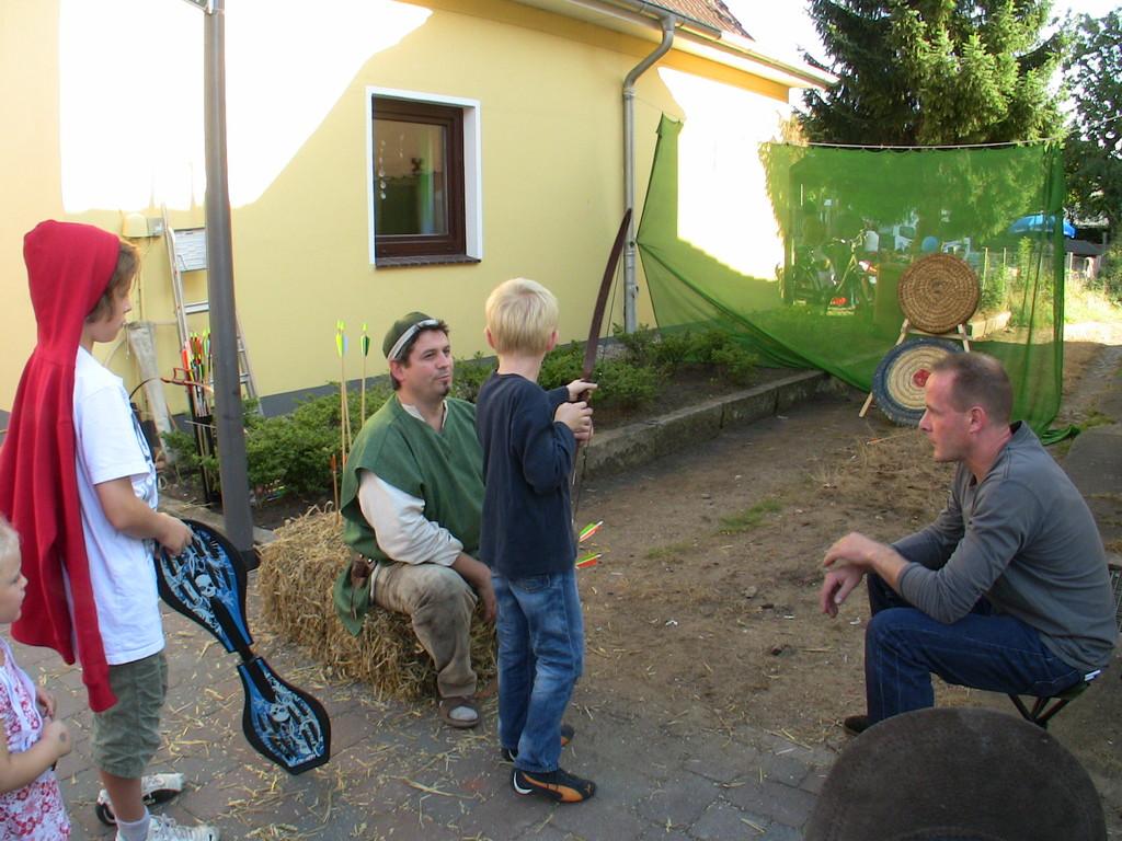 Leonardo Antonius im Gespräch mit dem Jungvolk