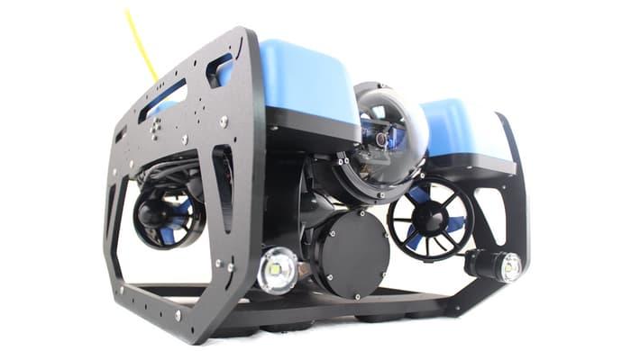 Diving drone BlueROV2