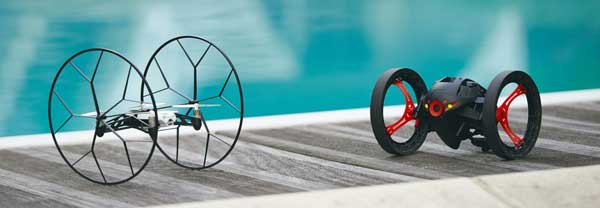 Parrot Rolling Spider & Jumping Sumo