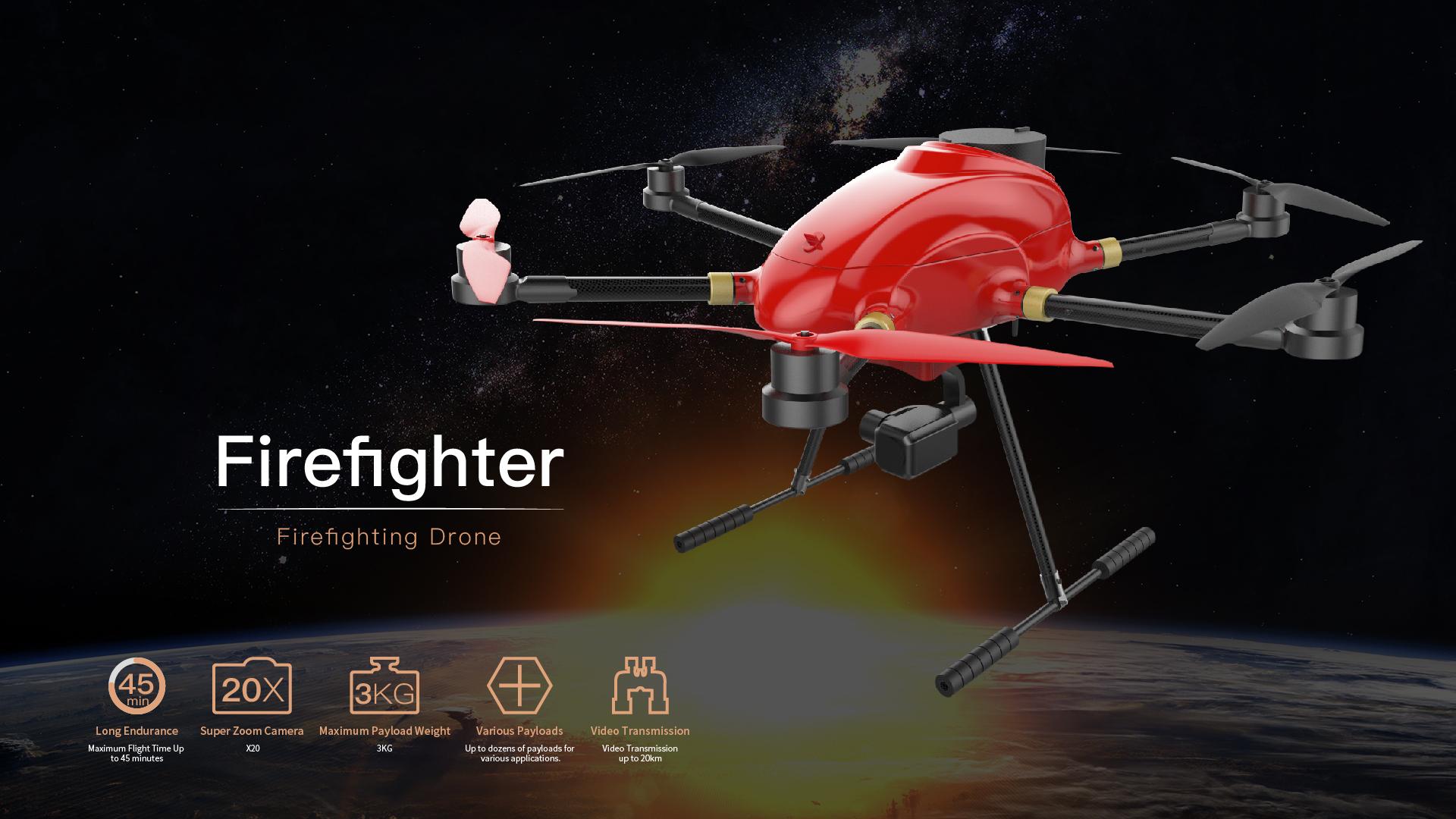Firefighter Firefighting Solution