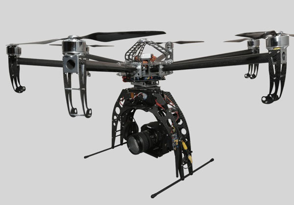 Hexacopter Turbo Ace Cinewing 6 HL