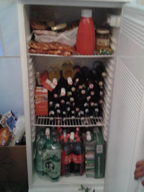 Nichts gegen einen gut gefüllten Kühlschrank