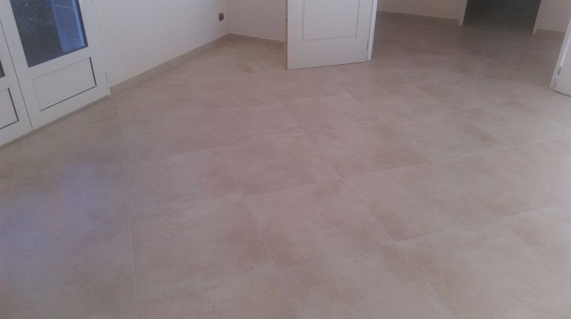 carrelage 60/60 en pose diagonale