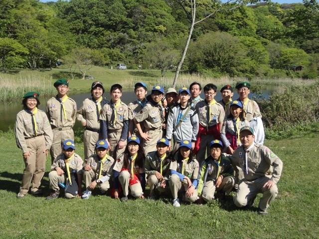ボーイスカウトアメリカ(BSA)のキャンプに参加させてもらいました
