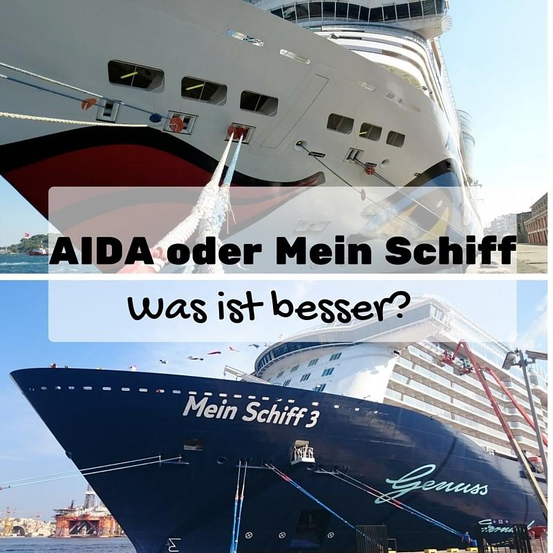 aida oder mein schiff was ist besser tr ume um die welt. Black Bedroom Furniture Sets. Home Design Ideas
