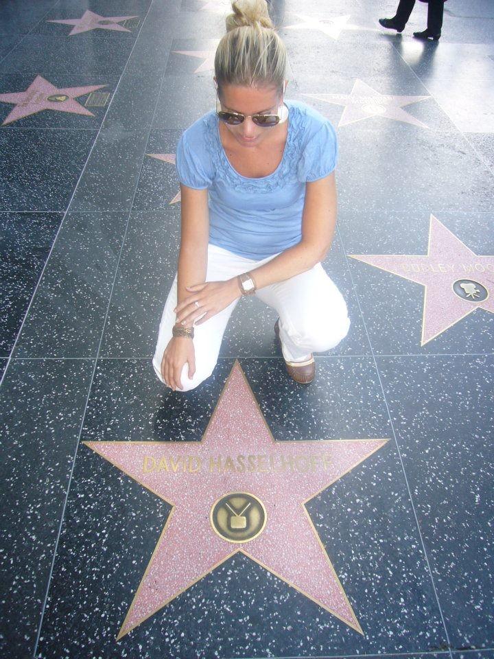 Walk of Fame David Hasselhoff