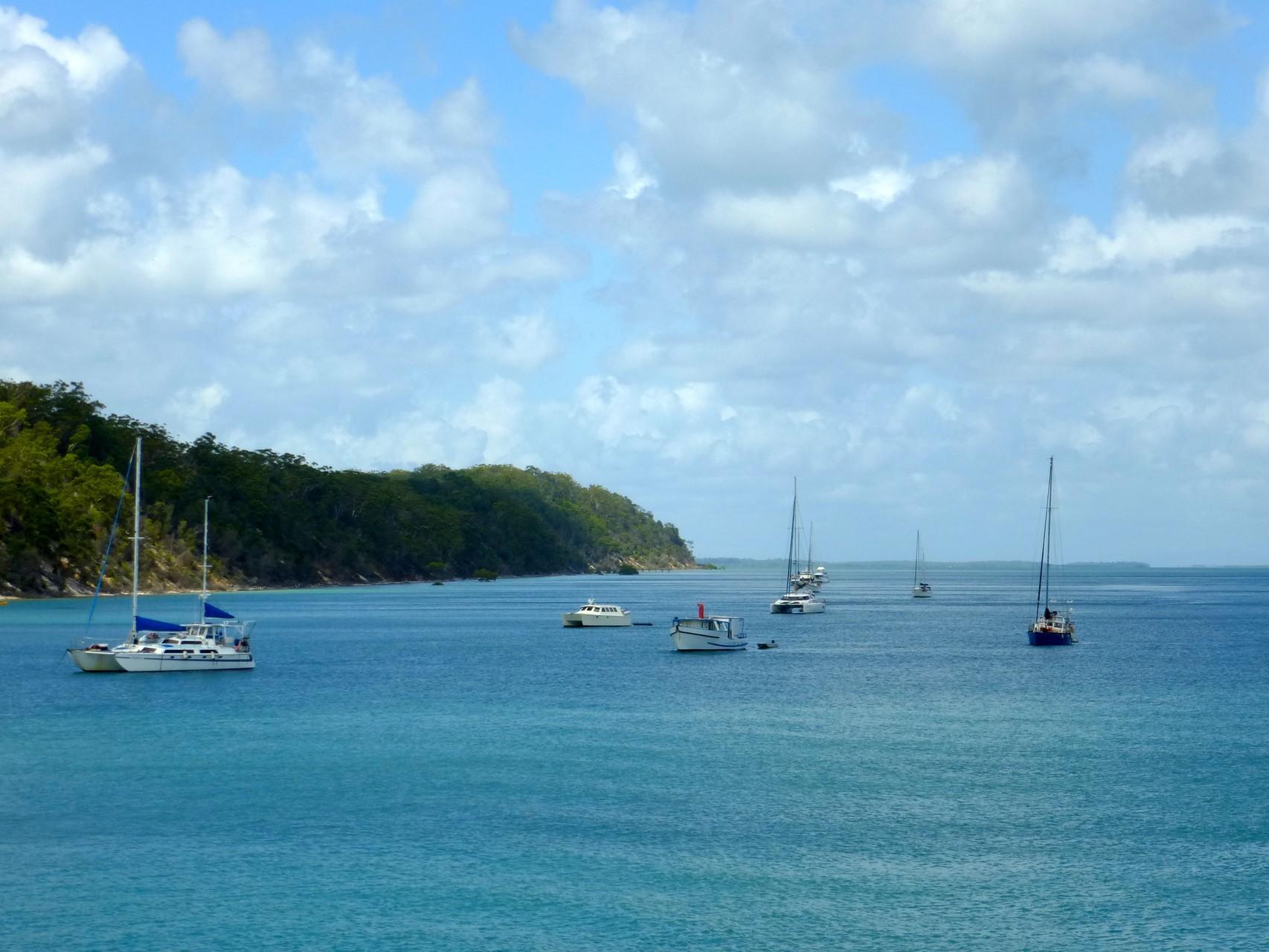 unser erster Eindruck von Fraser Island