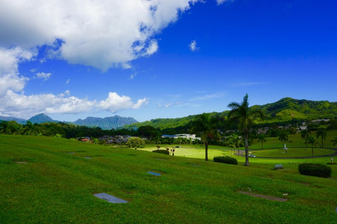 Friedhof auf Hawaii