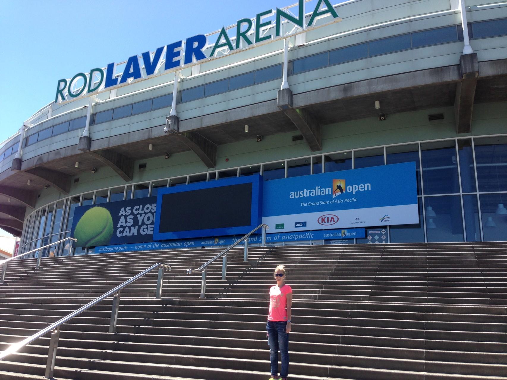 Australian Open in 3 Wochen