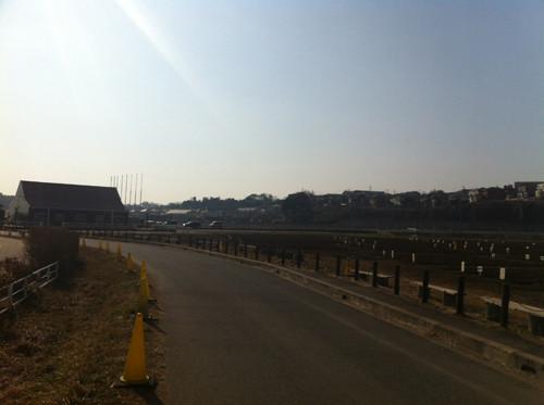 江原台遠景。