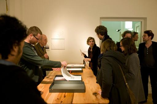 Akademie Schloß Solitude, Kabinett, Januar 2013 (Foto: Frank Kleinbach)