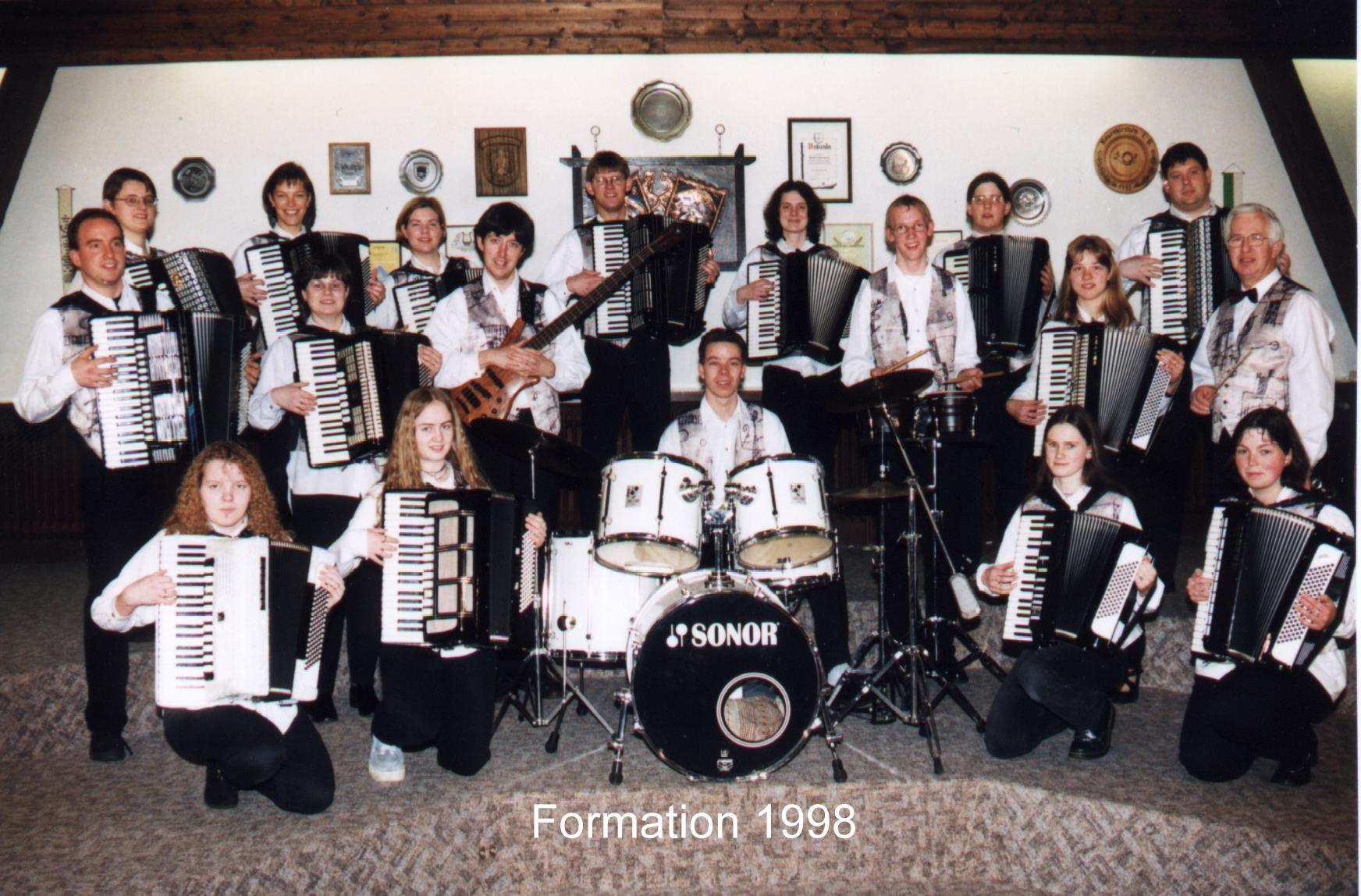Bis 1998 ist das AO gewachsen