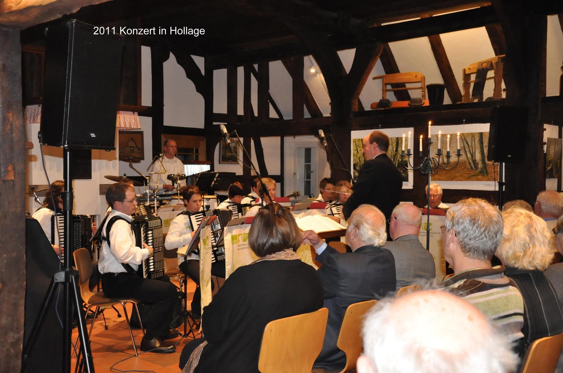 Im Heimathaus des Kulturvereins Hollage bei Wallenhorst