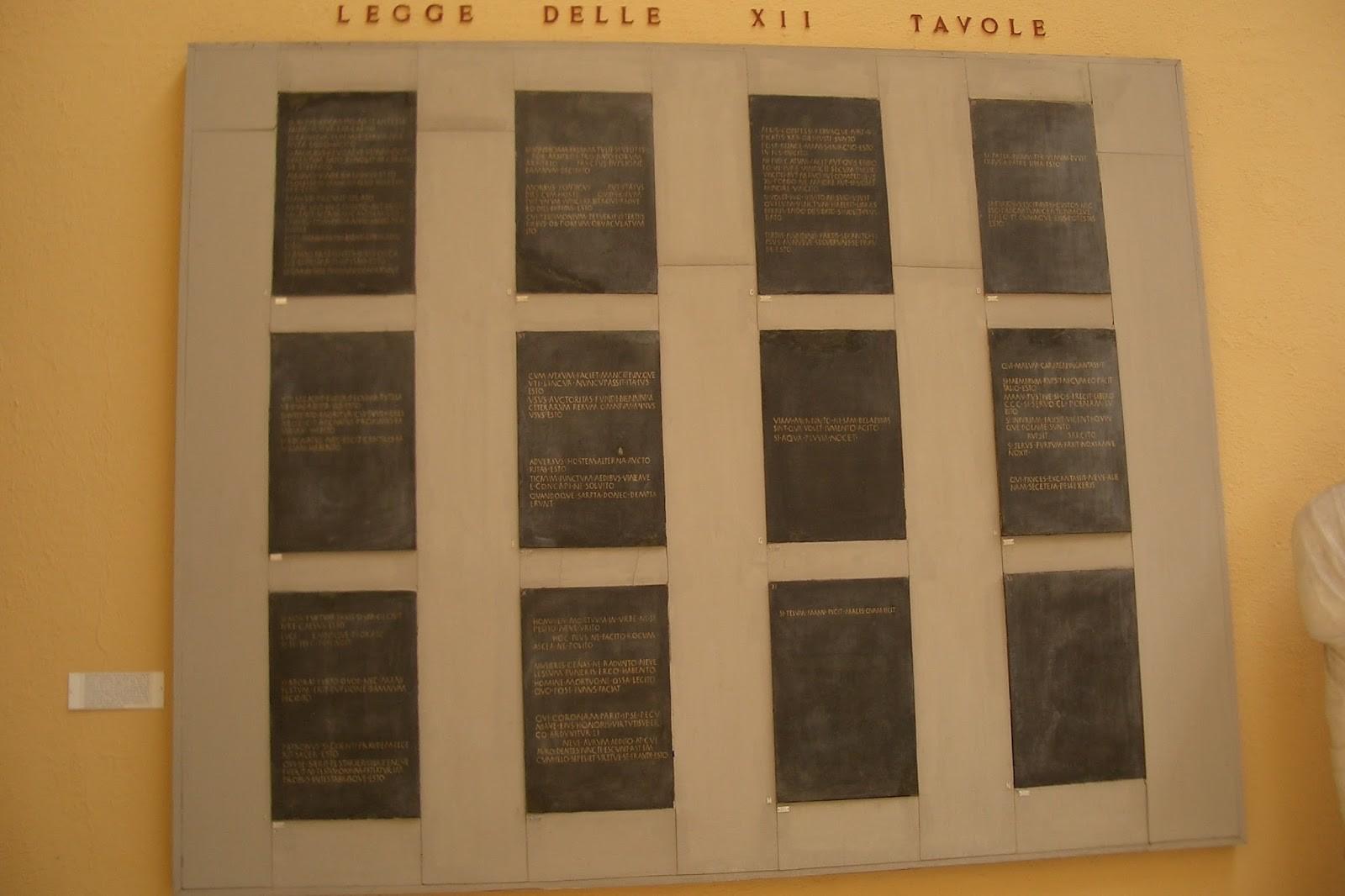 Leggi delle xii tavole benvenuti su admaioravertite - Le 12 tavole romane ...