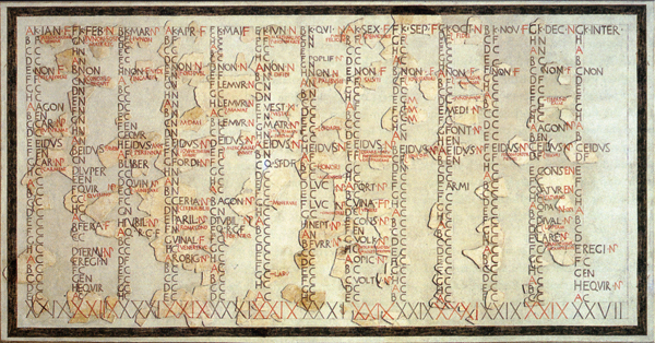 Il Calendario Romano.I Calendari Romani Giulio Cesare E Successivi Benvenuti