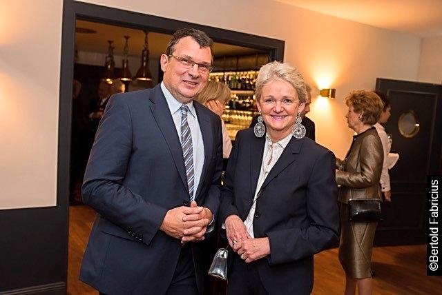 Prof. Dirk Schadendorf, Eva I. Doyé