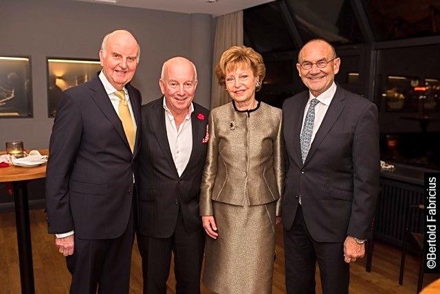 Dr. Wolfgang Hiege, Horst Schroth, Astrid Hiege, Prof. Norbert Aust