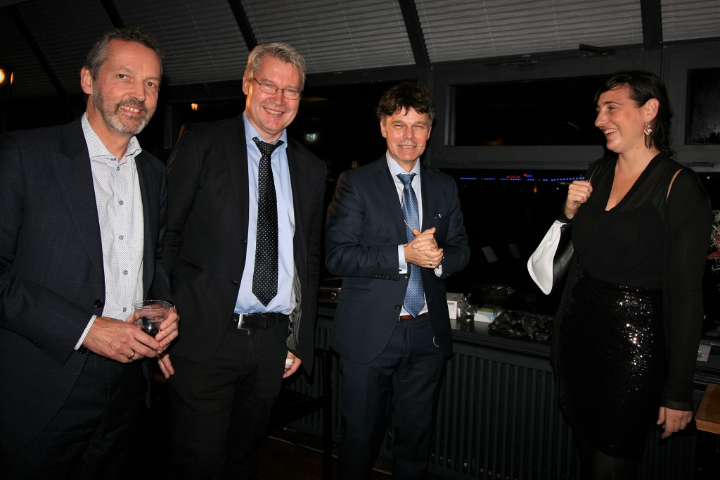 Dr. Peter Mohr, Prof. Klaus Pantel, Prof. Stefan Schneider, Prof. Verena Paulitschke