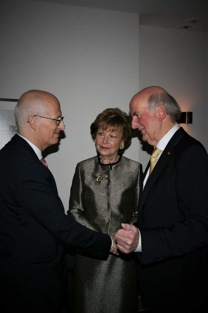 Dr. Peter Tschentscher, Astrid Hiege, Dr. Wolfgang Hiege