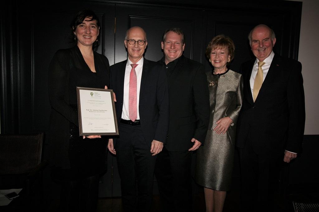 Prof. Verena Paulitschke, Dr. Peter Tschentscher, David Harrington, Astrid Hiege, Dr. Wolfgang Hiege