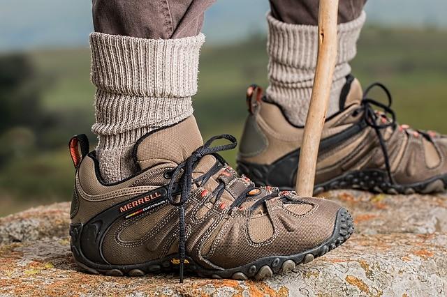 Wandern Schuhe Socken