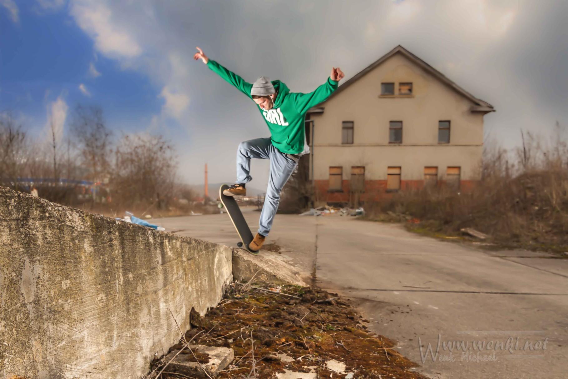 Skaten, egal wo