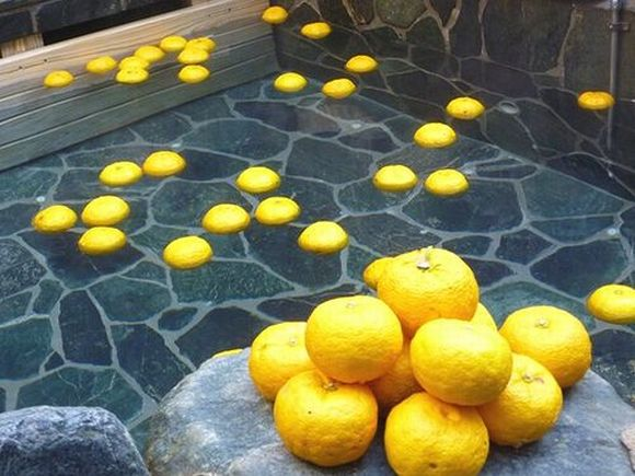 冬至 柚子湯 ゆず風呂