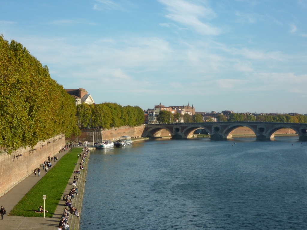 Bords de la Garonne Toulouse