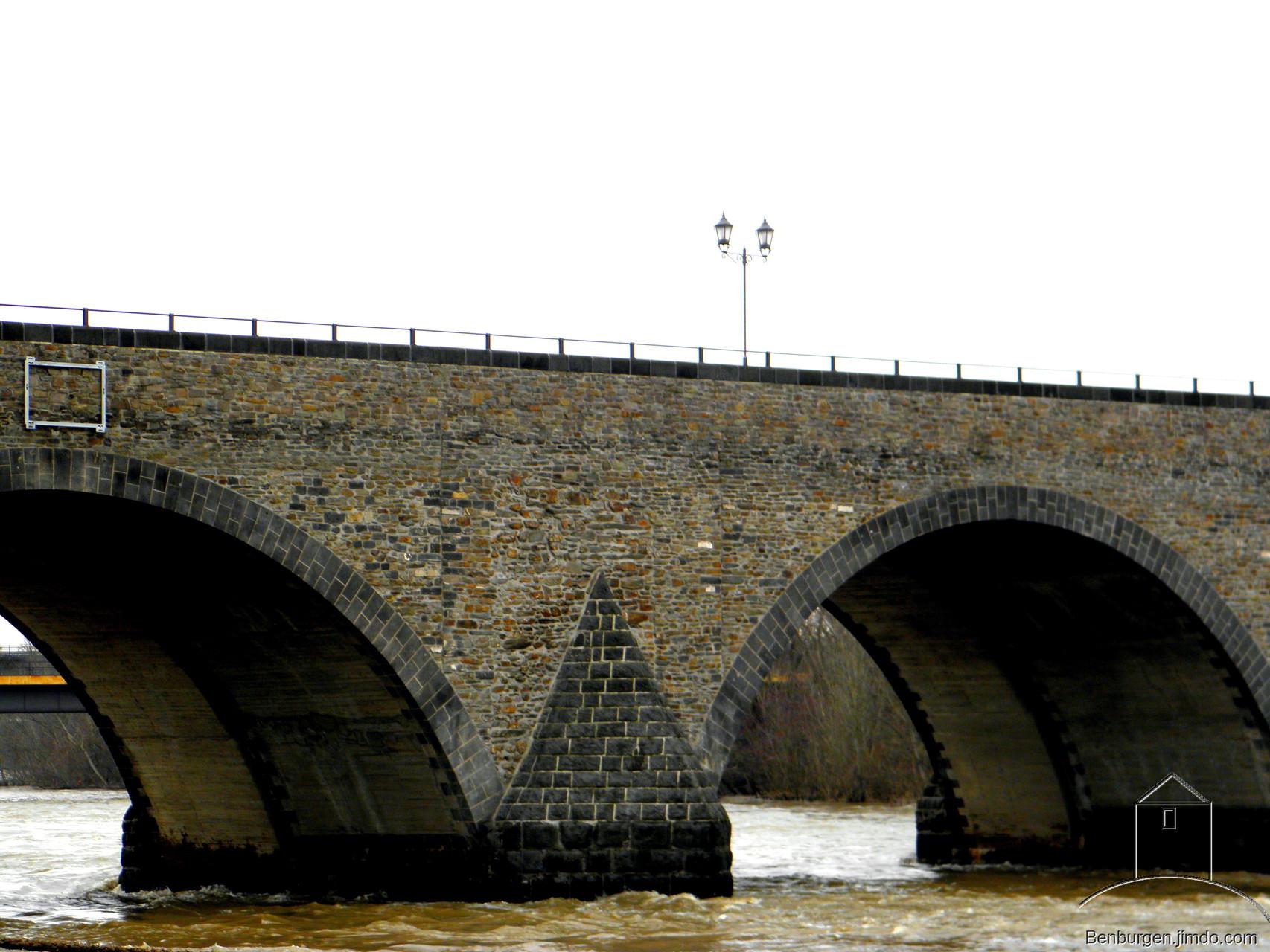 Balduinbrücke.
