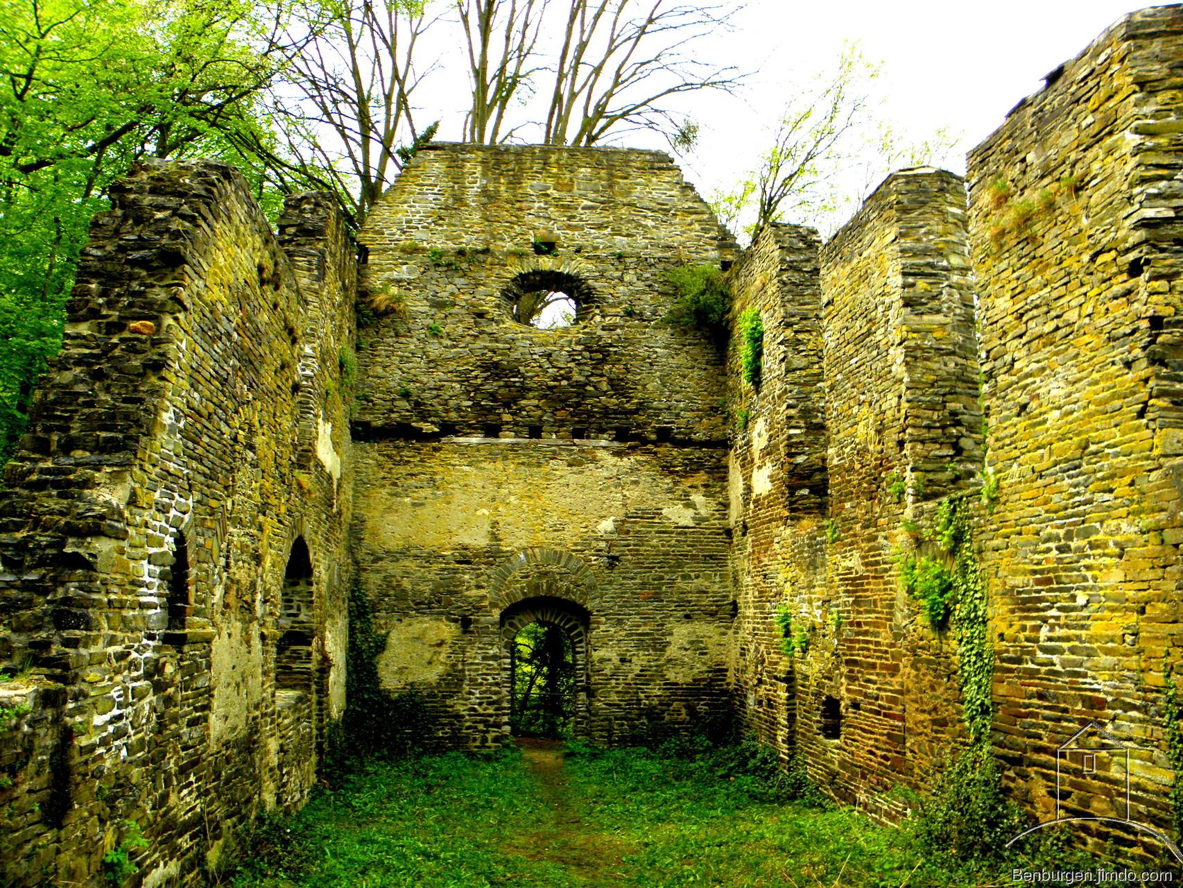 Ruine der Margarethenkirche