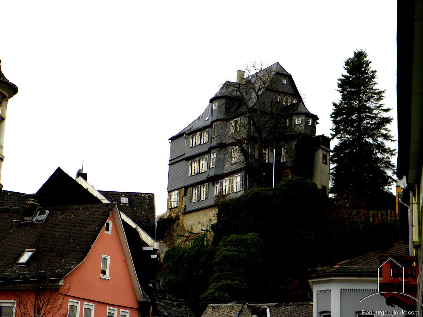Burgmannenhaus nahe dem Grafenschloss.