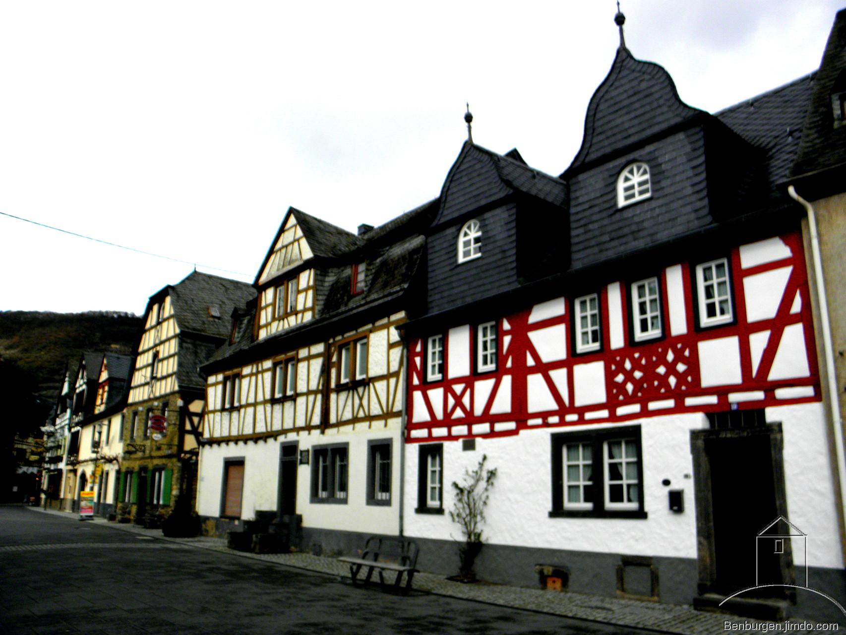Fachwerkbauten am Marktplatz.