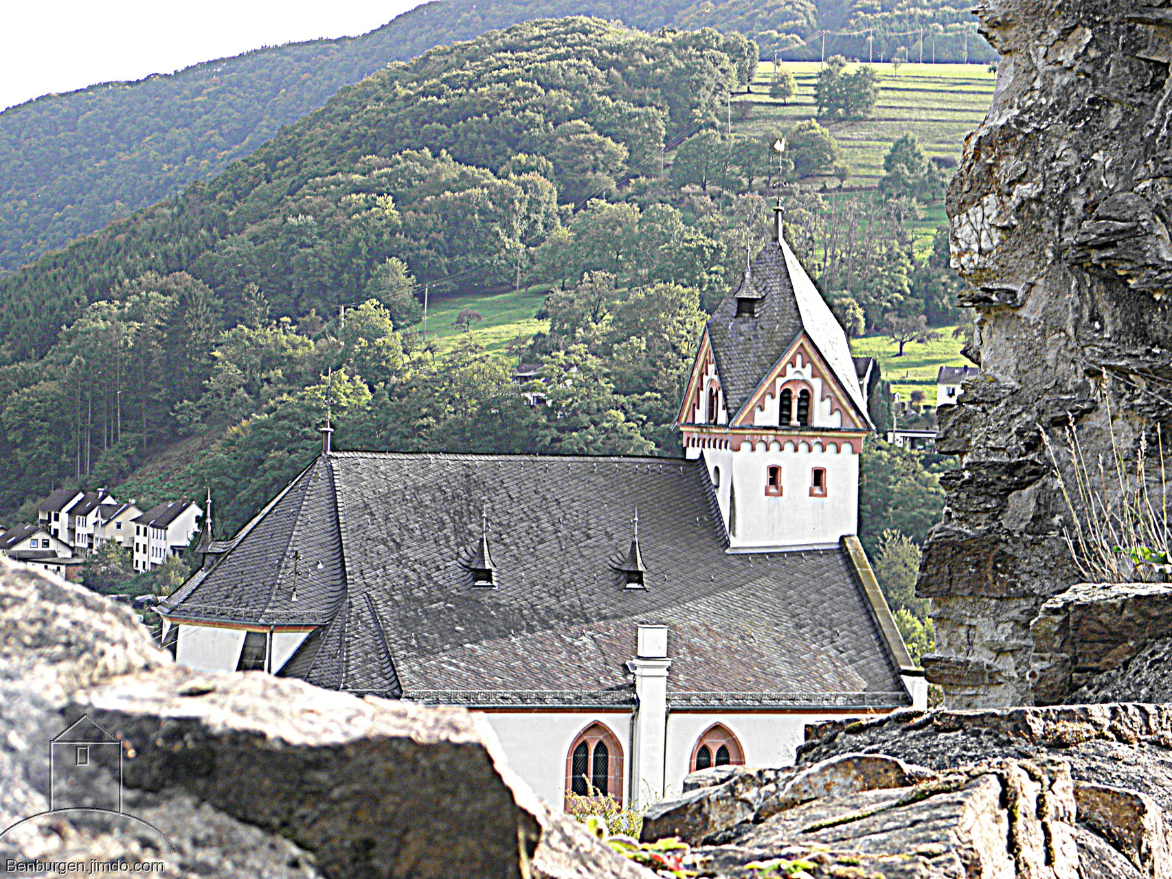 Pfarrkirche St. Kastor in  Dausenau.