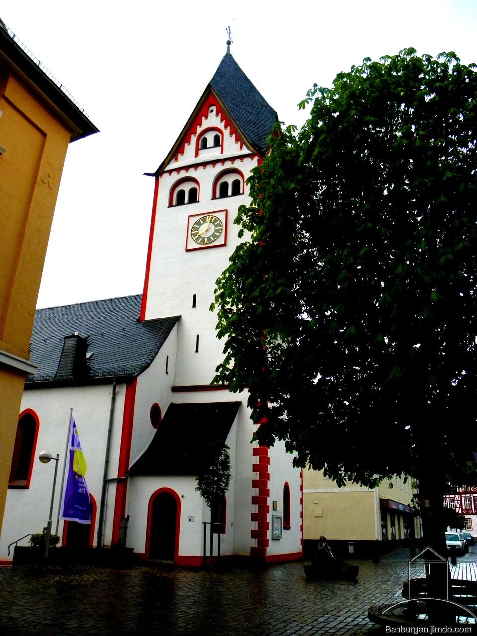 Pfarr-und Wehrkirche in Nassau