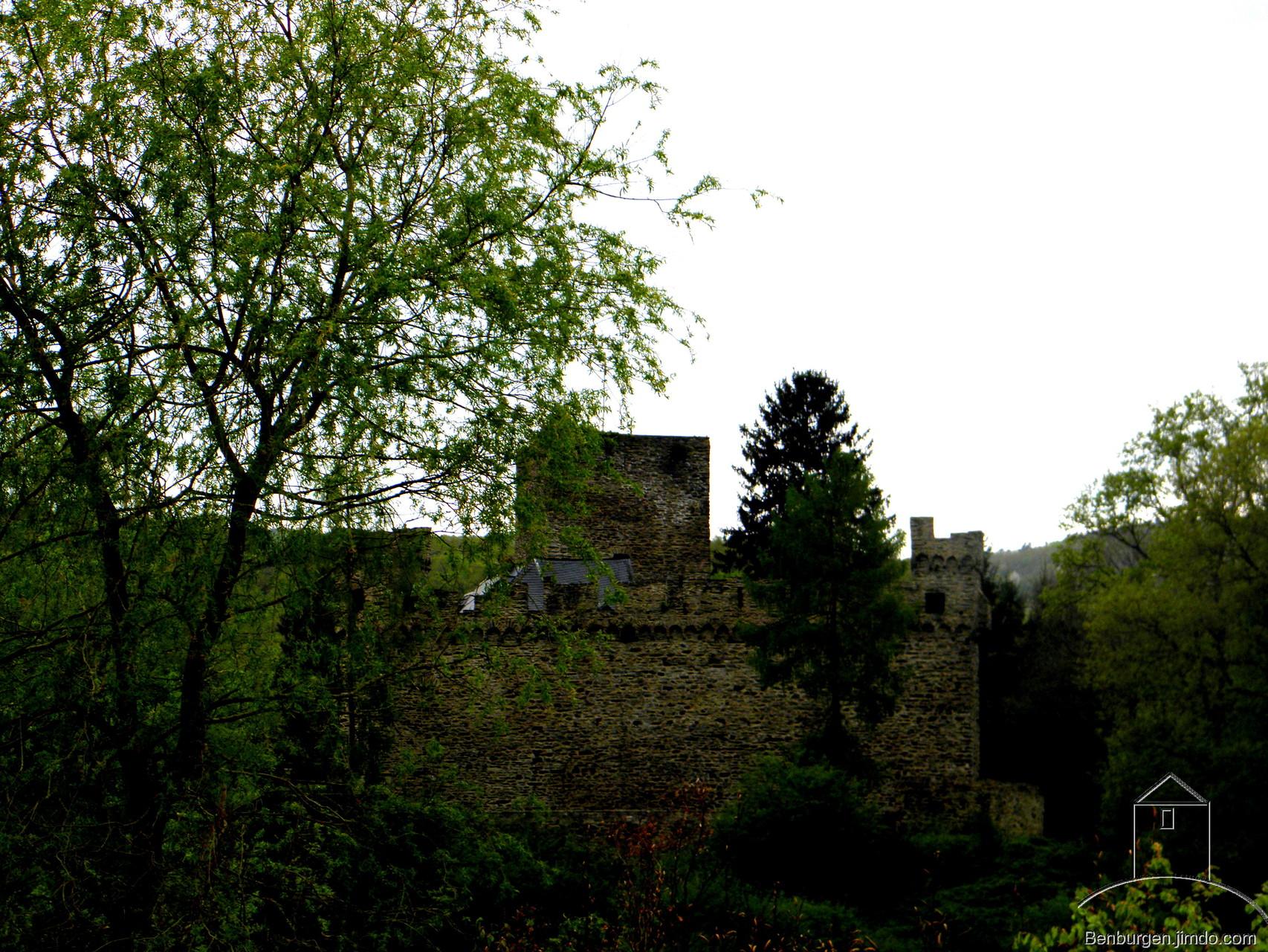 Burg und Schloss Langenau bei Obernhof