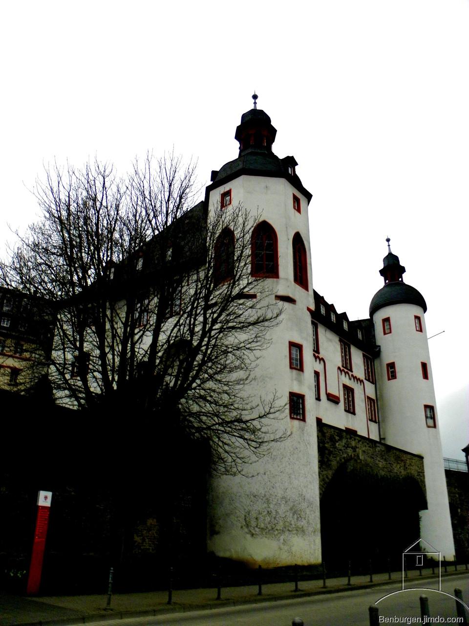 Alte Burg in Koblenz.