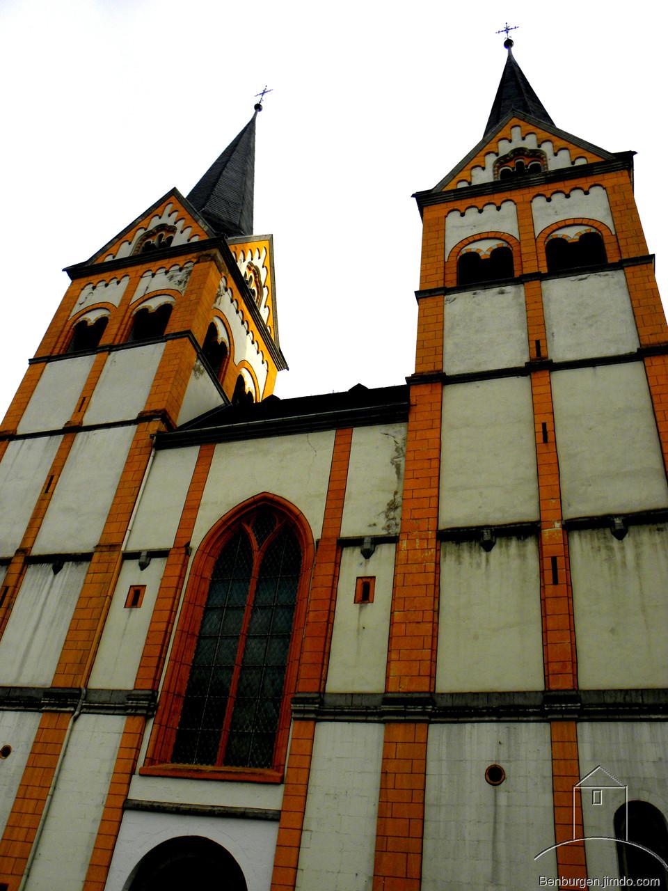 Die Florinskirche.