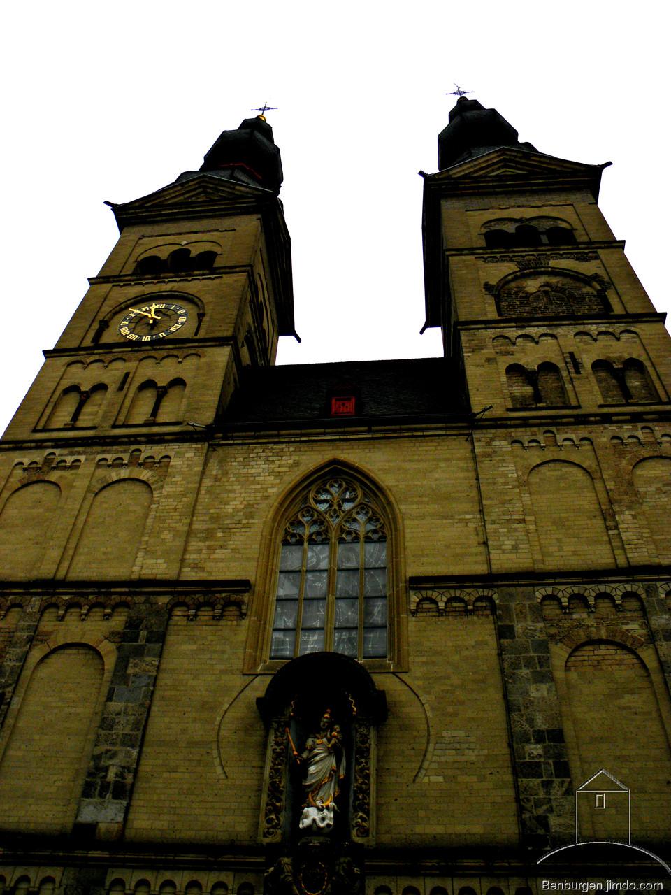 Die Liebfrauenkirche.