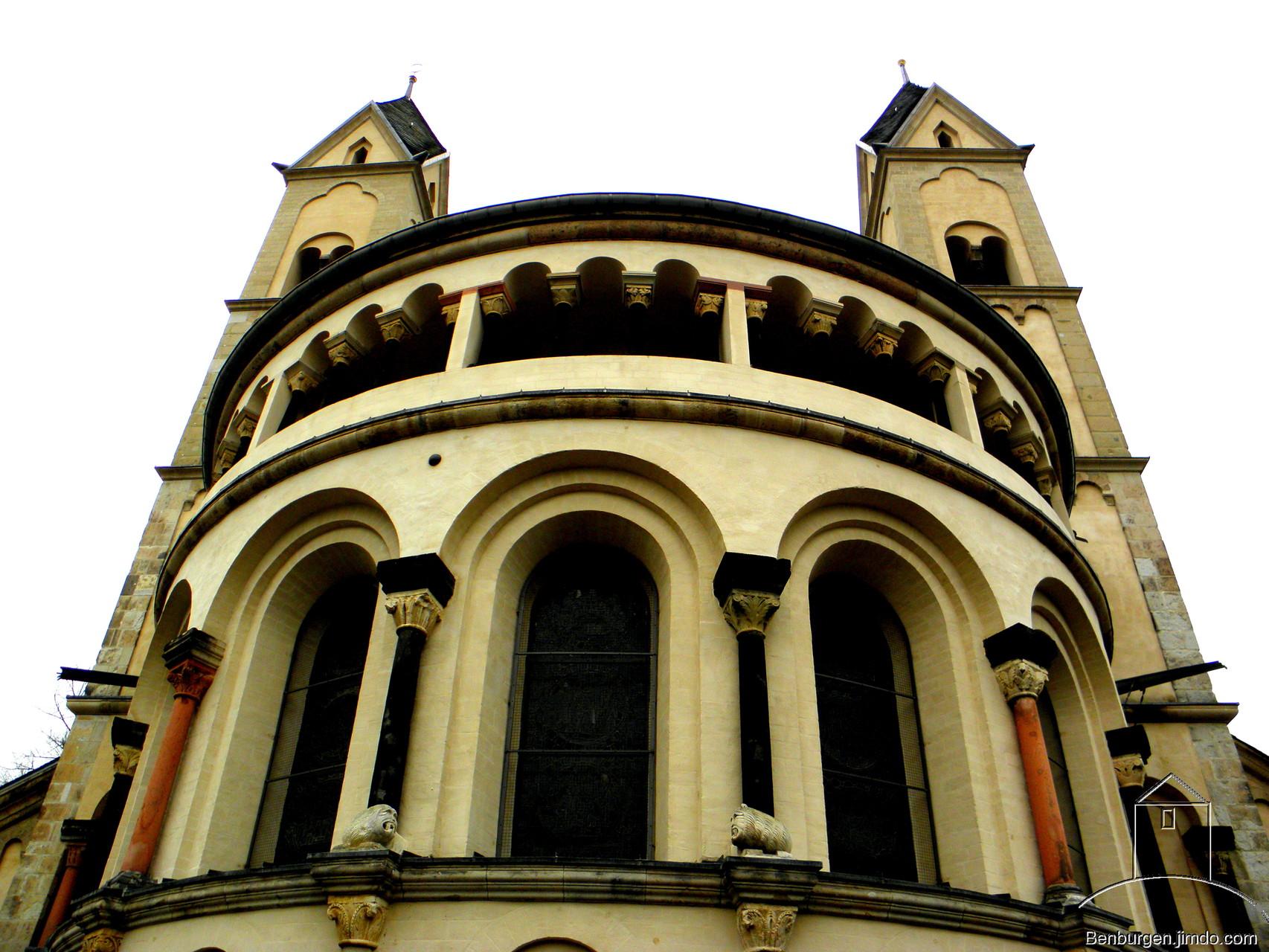 Die Kastorkirche.