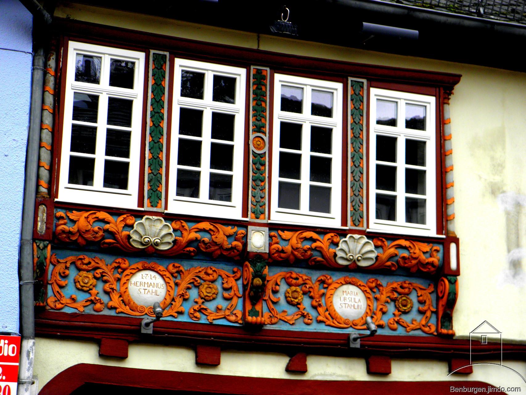 Fachwerkhaus in Diez.