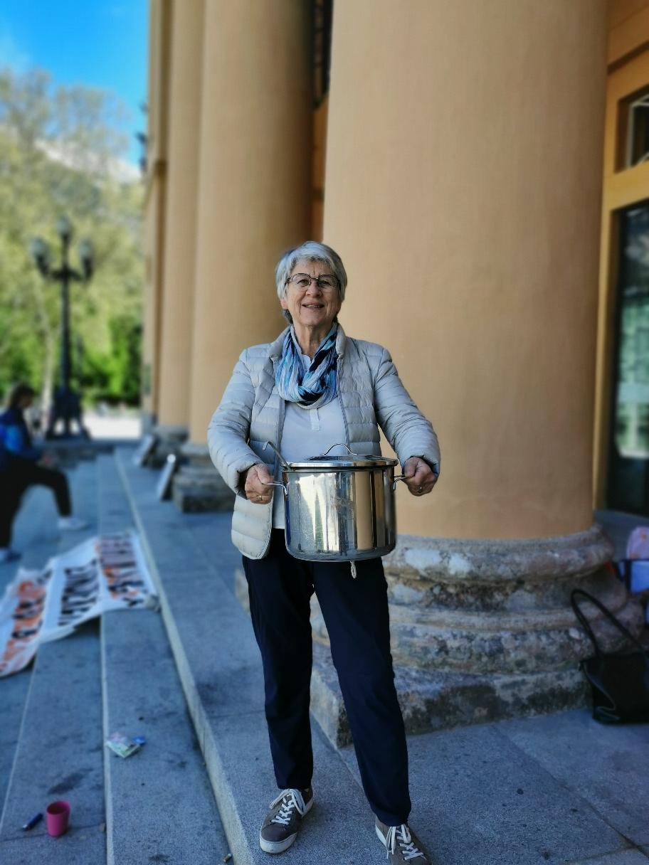Johanna Hackl hat köstliches Curry gebracht!