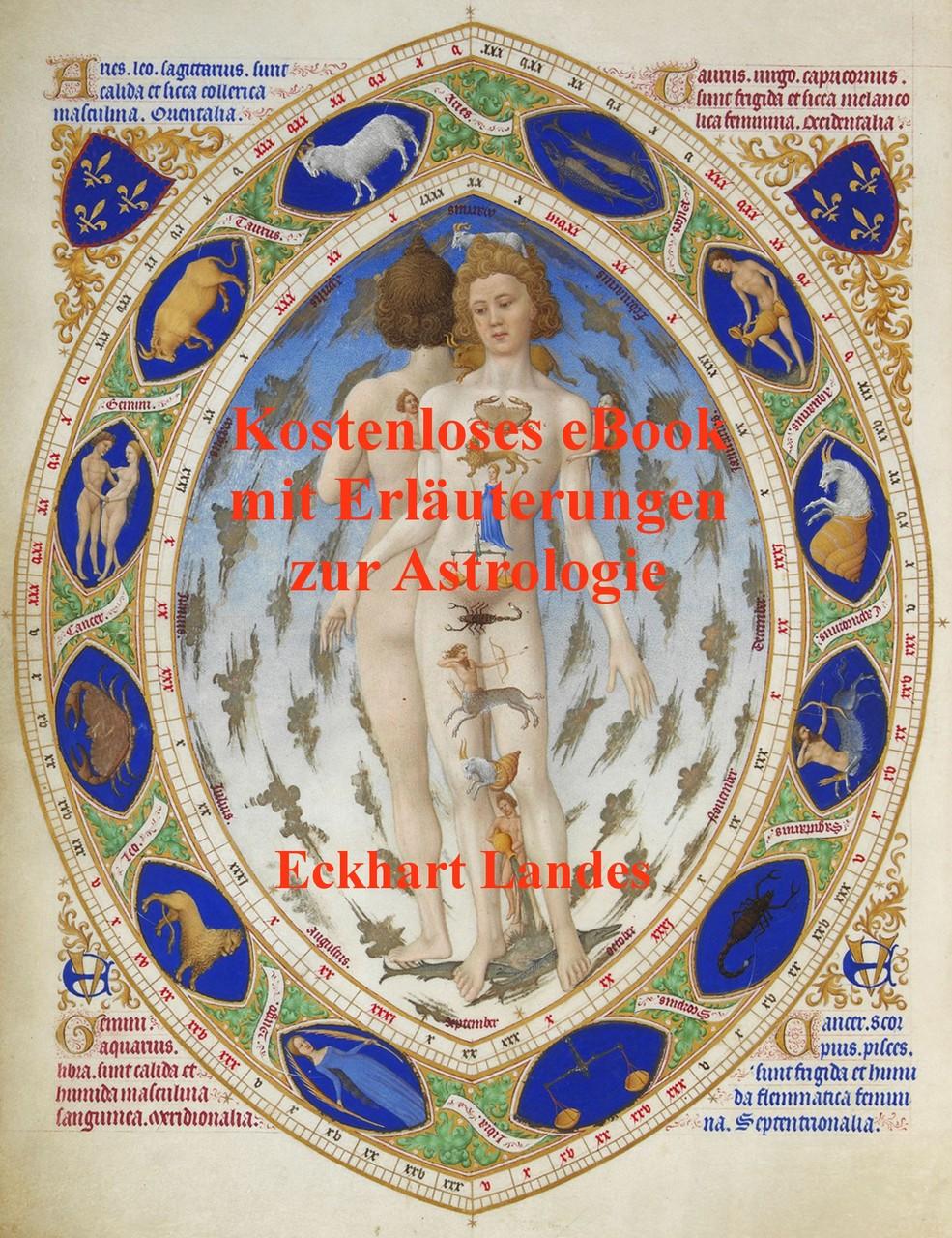 Kostenloses eBook mit Eräuterungen zur Astrologie